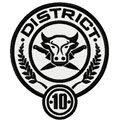 District 10 Hunger games logo machine embroidery design