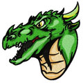 Dragon 11 machine embroidery design