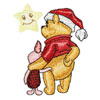 Christmas Winnie Pooh and Piglet