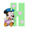 Mickey Mouse H holiday