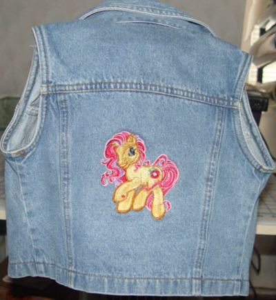 Jacket with my Little pony design