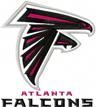 Atlanta Falcons Logo embroidery design