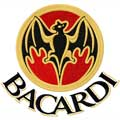 Bacardi bat logo machine embroidery design