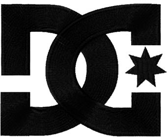 Dc shoes logo fashion and clothing logos embroidery logotypes