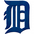 Detroit Tigers Classic Logo machine embroidery design