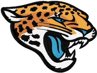 Jaguars Embroidery Designs