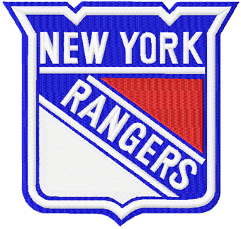 New York Rangers Logo Machine Embroidery Design Ny Images Wallpaper