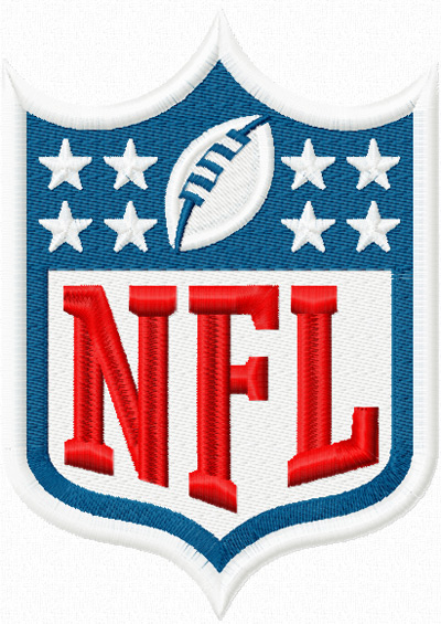 DESIGN EMBROIDERY NFL