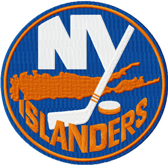 New York Islanders Logo machine embroidery design