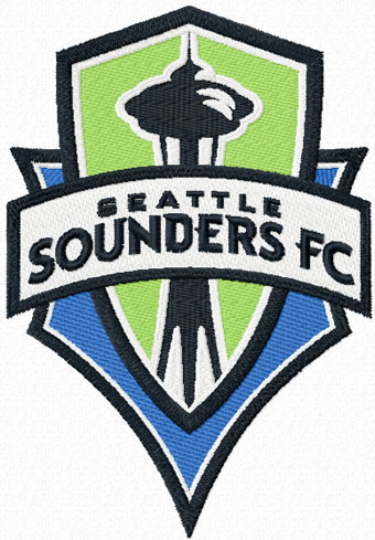 Seattle Sounders Fc Logo Machine Embroidery Design