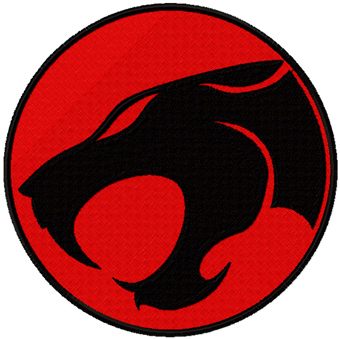 Thunder Cats Logo on Thundercats Logo Machine Embroidery Design