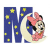 Minnie Mouse M moon