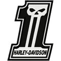 Harley Davidson 1 embroidery design
