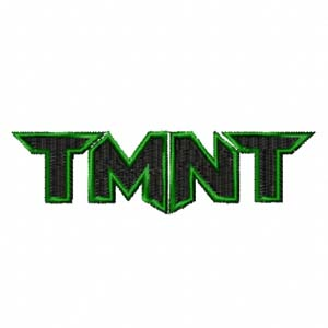 Logo Teenage Mutant Ninja Turtles Machine Embroidery Design