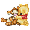 Baby pooh and baby tiger 2