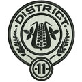 District 11 Hunger games logo machine embroidery design