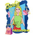 Barbie Fashion Style machine embroidery design