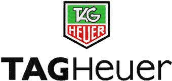 TAG Heuer logo machine embroidery design