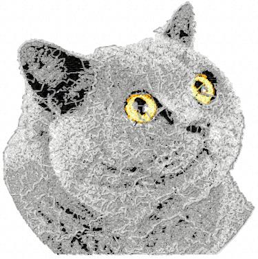 British Cat Free Machine Embroidery Design News Free Machine