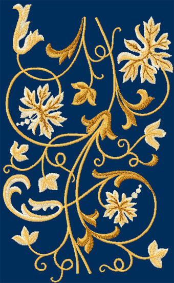 Free Hardanger Machine Embroidery Design