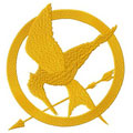 Hunger games bird logo machine embroidery design