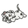 Puppies machine embroidery design