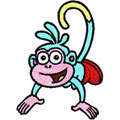 Monkey - Doras friend