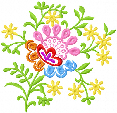 Free Flower Machine Embroidery Design News Free Machine