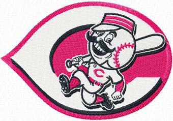 Cincinnati Reds Alternate Logo Machine Embroidery Design