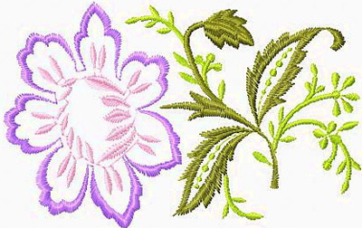 Floral Embroidery Designs. Unique And Original Flower Embroidery