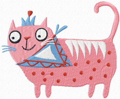 Free King Cat Machine Embroidery Design News Free Machine