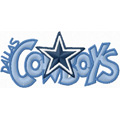 Dallas Cowboys Logo Free embroidery design