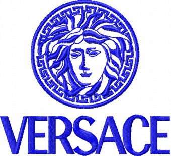 Versace free machine embroidery design for clothes