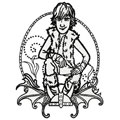 Hiccup Horrendous machine embroidery design