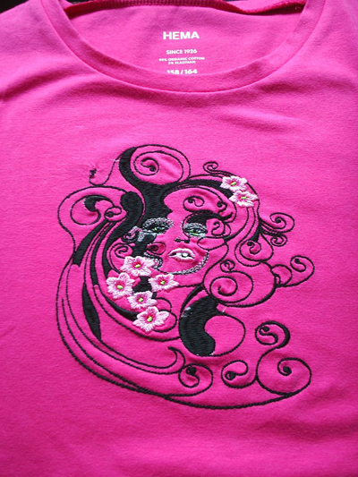 Embroidery designs on shirts makaroka