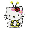 Hello Kitty Bee machine embroidery design