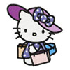 Hello Kitty Lady