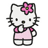 Hello Kitty I think embroidery design