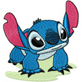 Stitch from Lilo and Stitch embroidery design