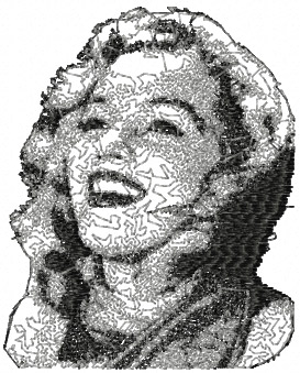 marilyn monroe design for free download