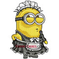 Minion embroidery design