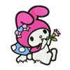 My melody playing a pipe