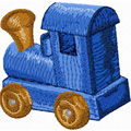 Wooden Train 1a