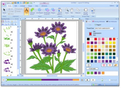 free machine embroidery software trial