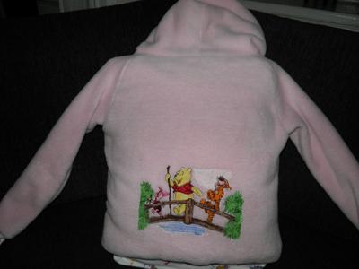 piglet from winnie pooh. jacket with disney winnie pooh