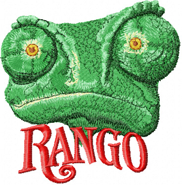Rango 2 machine embroidery design
