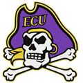 East Carolina Pirates logo  embroidery design