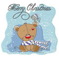 Cute Christmas teddy free embroidery design