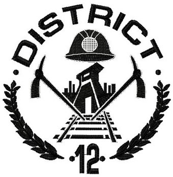 Hunger Games District 12 Sign District 12 Hunger gam...