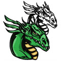 Dragon 12 machine embroidery design